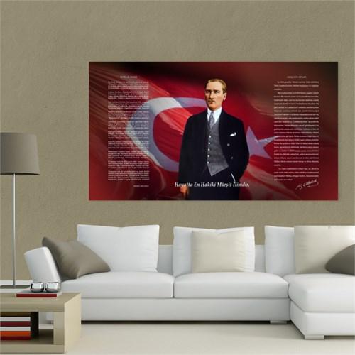 Atlantis Tablo Atatürk Köşesi 75X40 Cm