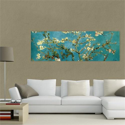 Atlantis Tablo Çiçek Açmış Ağaç, Badem Çiçekleri 90X30 Cm