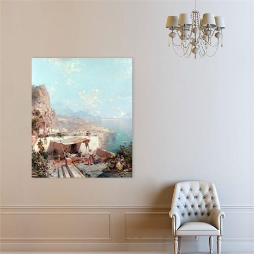 Atlantis Tablo Amalfi, Salerno Körfez 50X60 Cm