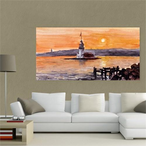 Atlantis Tablo Kız Kulesi 80X40 Cm