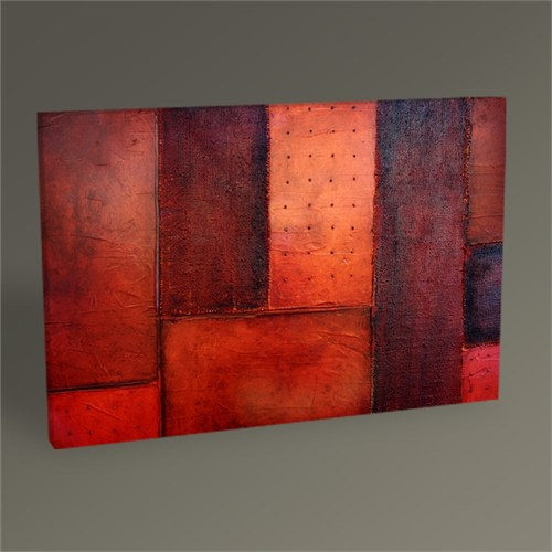 Tablo 360 Red Abstract Tablo 45X30