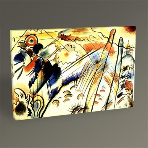 Tablo 360 Wassily Kandinsky Doğaçlama Tablo 45X30