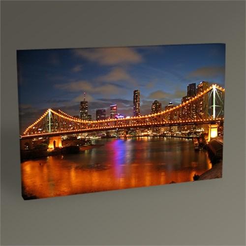 Tablo 360 New York Gece Manzarası Tablo 45X30
