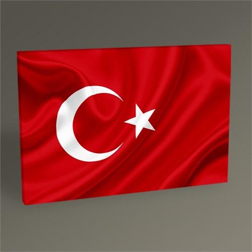 Tablo 360 Türk Bayrağı Tablo 45X30