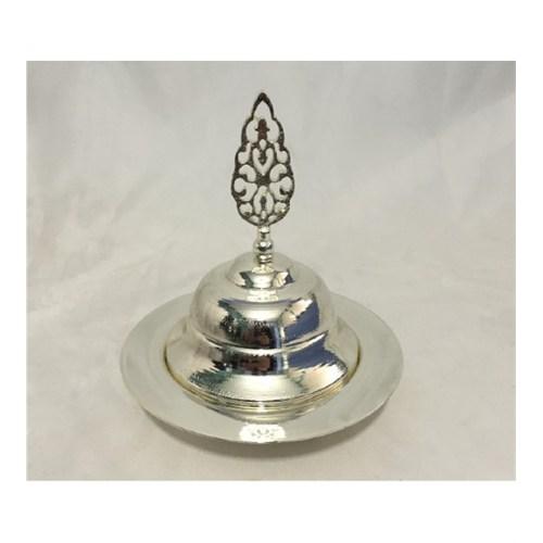 Jardinyer SETLİ SAHAN Gümüş 18 cm.