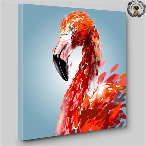 Artred Gallery60X60İllüstrasyon Pelikan Tablo