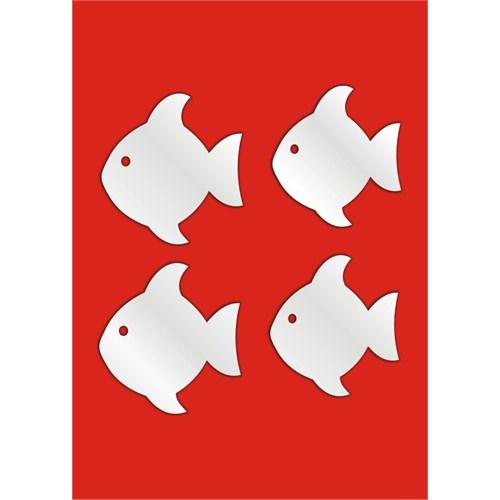 Küçük Balıklar Dekoratif Ayna
