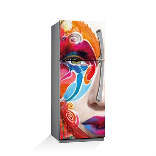 Artikel Renklerin Dansı Buzdolabı Stickerı Bs-005