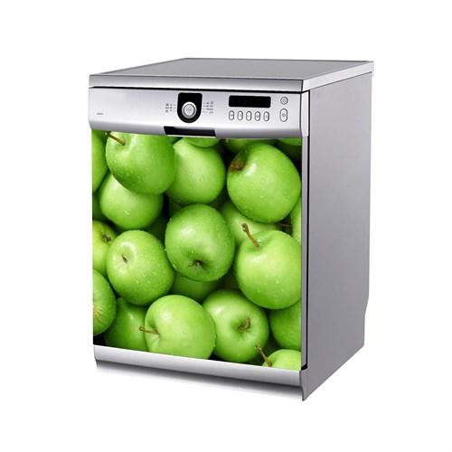 Artikel Yeşil Elma Bulaşık Makinası Stickerı Bs-142