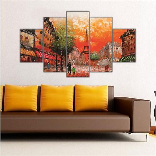 Ritmo Canvas Renkli Paris Canvas Tablo