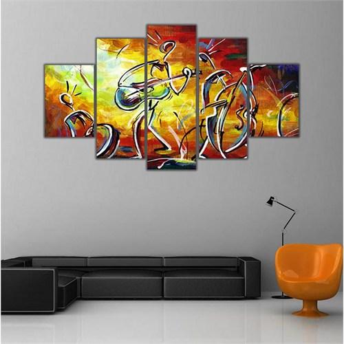 Ritmo Canvas Renkli Orkestra Canvas Tablo