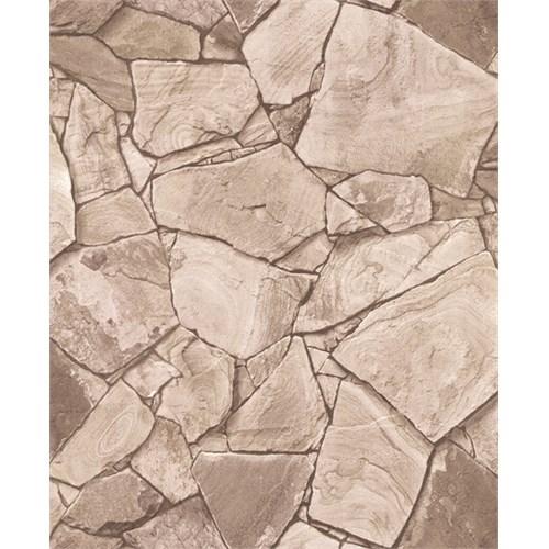 Bien Wallpaper 8840 Taş Desen Duvar Kağıdı