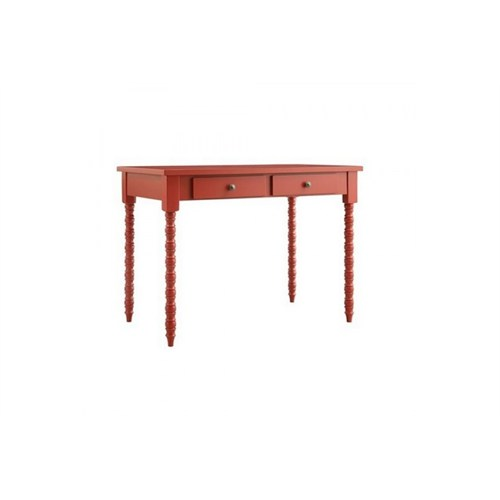 Woodenbend Belda Kırmızı Çalışma Masası (70X110)