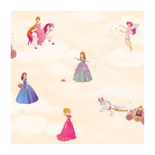 Golden Kids Kız Çocuk Odası Nonwoven Duvar Kağıdı