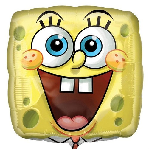 Pandoli 45 Cm Folyo Balon Sponge Bob Face