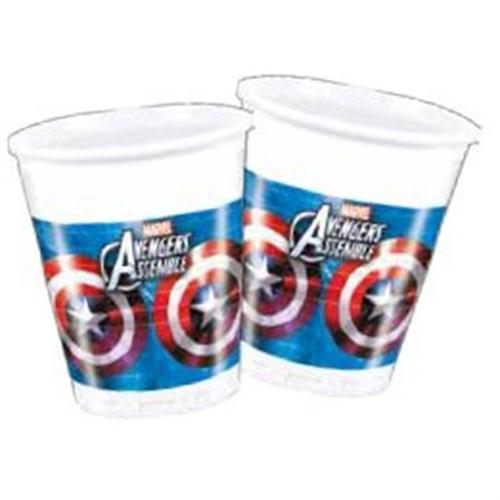 Pandoli Avengers Plastik Bardak 8 Adet