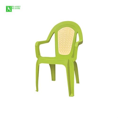 Bunjee Maksi Çift Renkli Plastik Sandalye Yeşil