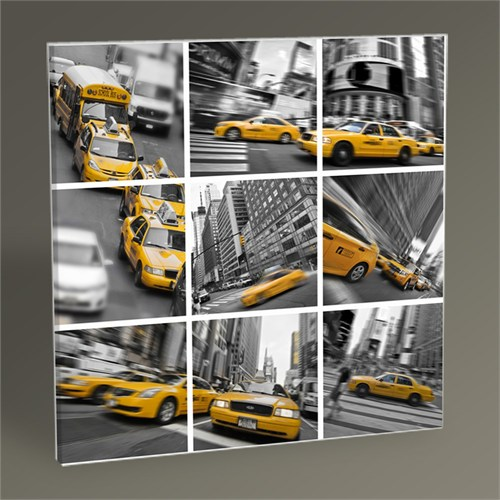 Tablo 360 New York Kolaj Tablo 30X30