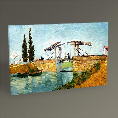 Tablo 360 Vincent Van Gogh-The Langlois Bridge At Arles Tablo 45X30