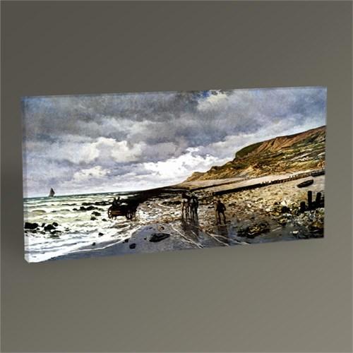 Tablo 360 Claude Monet La Pointe De La Hève At Low Tide 60X30
