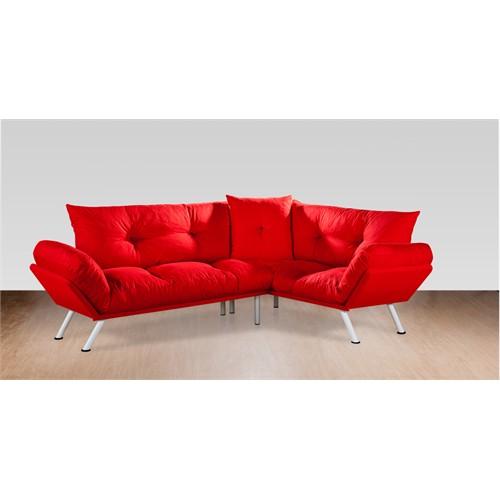 Sigma Tasarım Doğa Köşe Takımı Petek Kırmızı