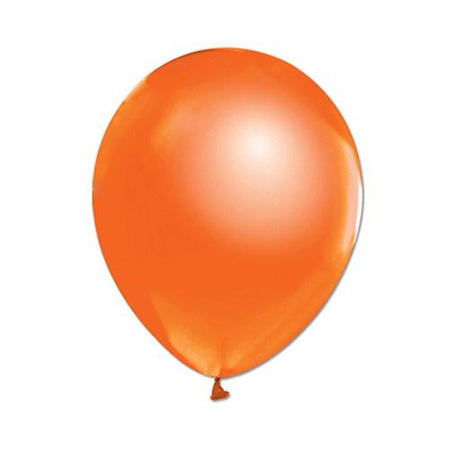 KullanAtMarket Metalik Turuncu Balon