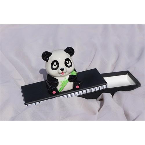 Mira Sevimli Panda Tasarım Kutu 22*8 Cm