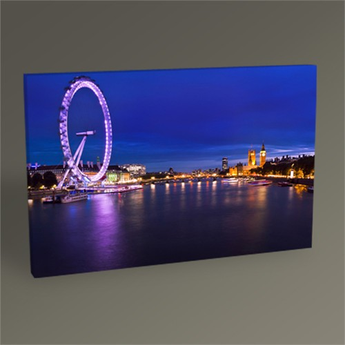 Tablo 360 London Westminster Bridge Tablo 45X30