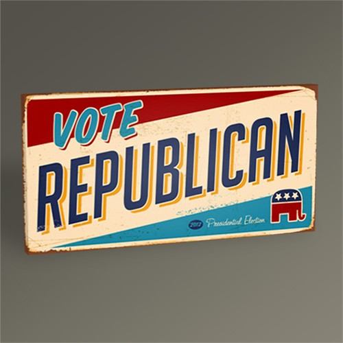 Tablo 360 Republican Tablo 60X30