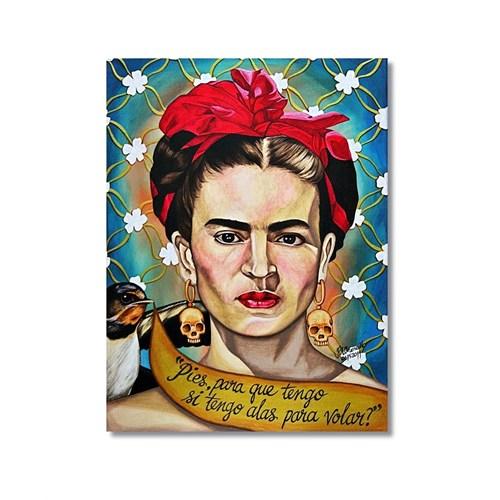 Tictac Frida 1 Kanvas Tablo - 50X75 Cm