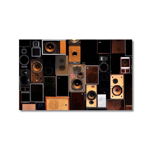 Tictac Speakers Kanvas Tablo - 40X60 Cm