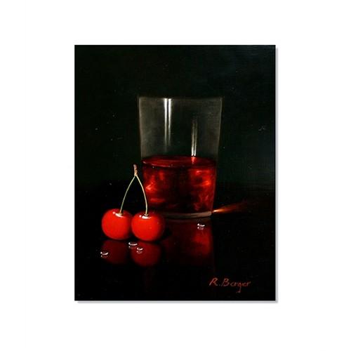 Tictac Vişne Suyu Kanvas Tablo - 50X75 Cm