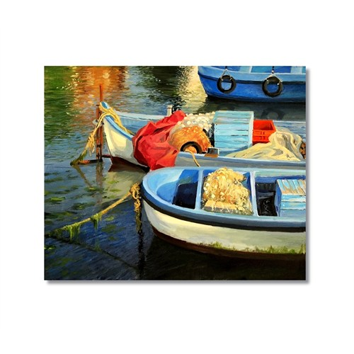Tictac Sandallar Kanvas Tablo - 50X50 Cm