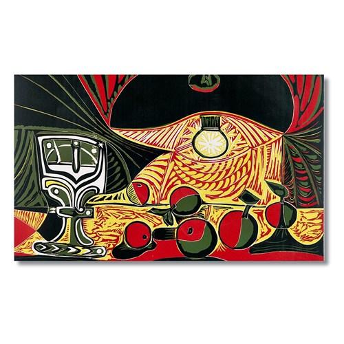 Tictac Pablo Picasso Natumort Kanvas Tablo - 40X80 Cm
