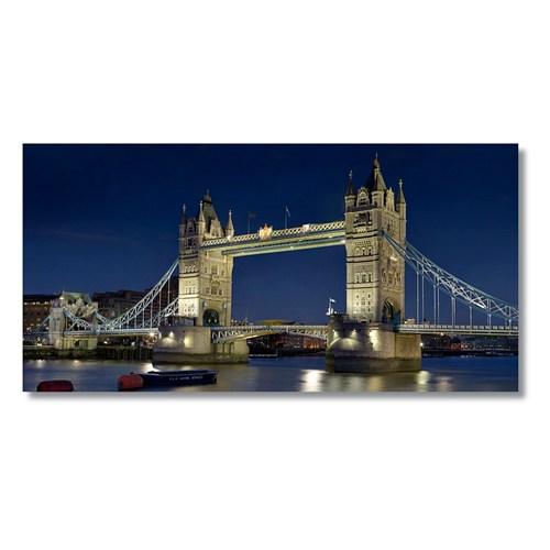 Tictac Londra Köprüsü Kanvas Tablo - 40X80 Cm