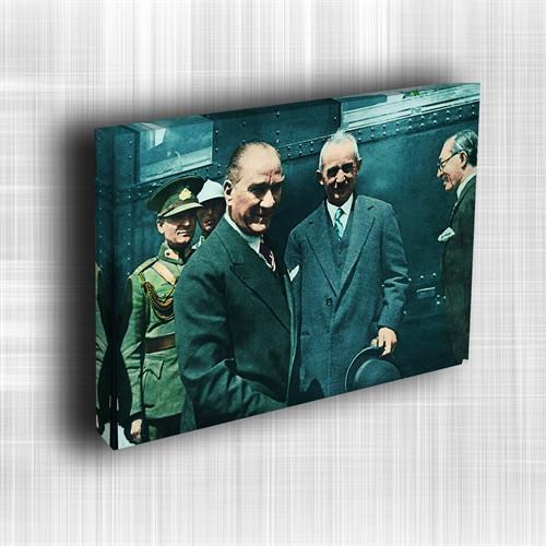 Doku Canvas Baskı Atatürk Atge-045/ 35*50