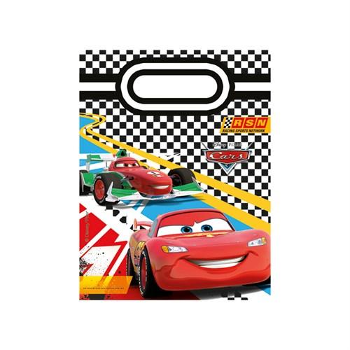 KullanAtMarket Cars Formula Parti Çantası 6 Adet