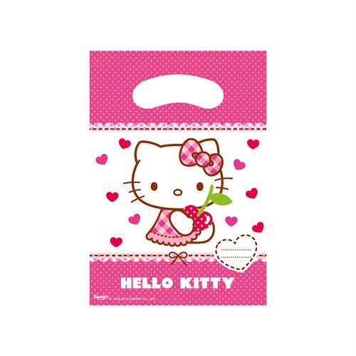 KullanAtMarket Hello Kitty Kalpler Parti Çantası 6 Adet