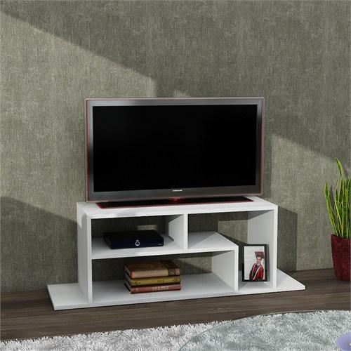 Dekorister Fagus Tv Sehpası Beyaz