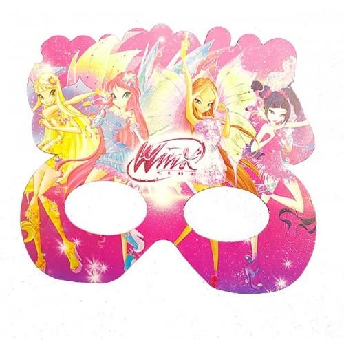 Parti Şöleni Winx Maske 6 Adet