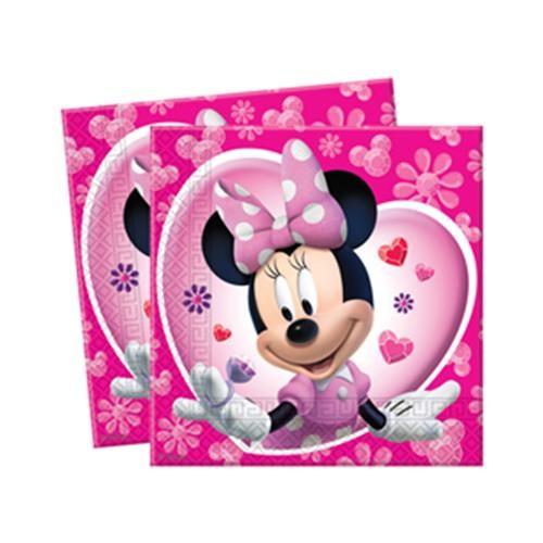 Parti Şöleni Minnie Mouse Peçete 20 Adet
