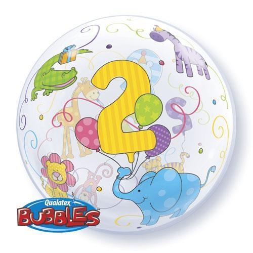 Parti Şöleni 2 Yaş Bubbles Folyo Balon