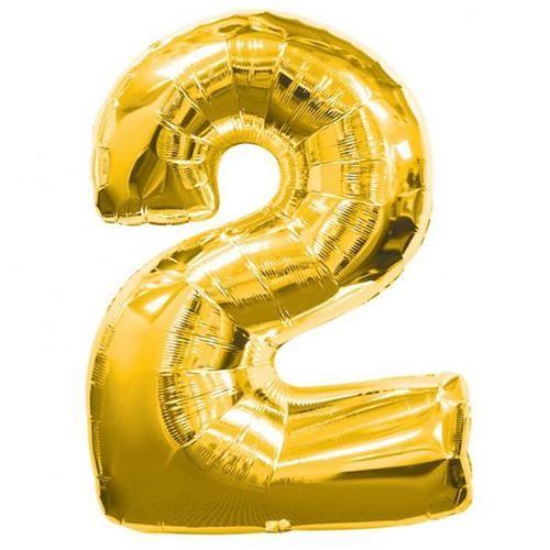 Parti Şöleni 2 Folyo Balon Gold 1 Adet