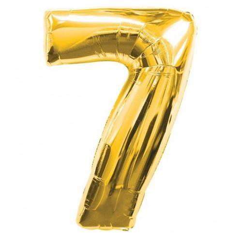 Parti Şöleni 7 Folyo Balon Gold 1 Adet