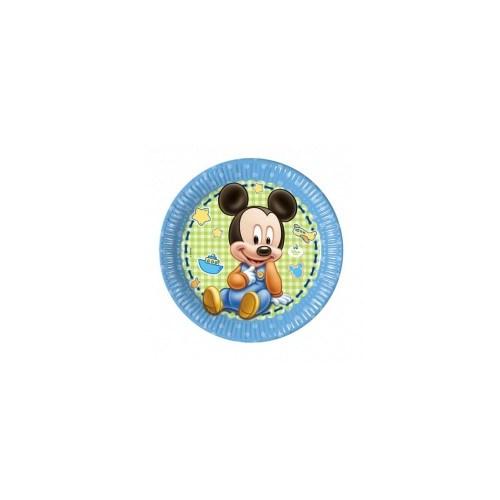 Parti Şöleni Baby Mickey Mouse Tabak