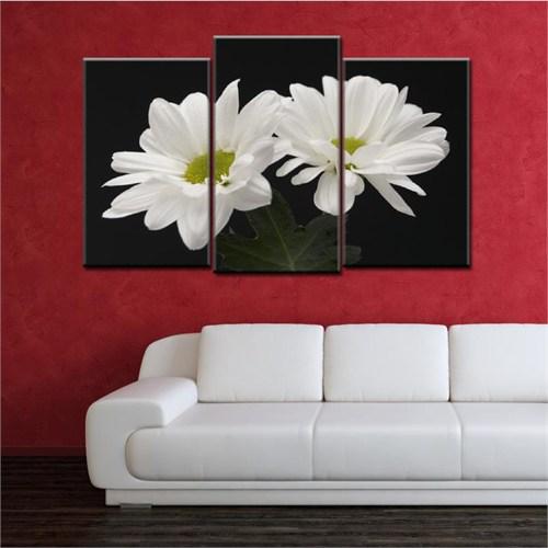 Canvastablom Ü225 Flowers Parçalı Tablo