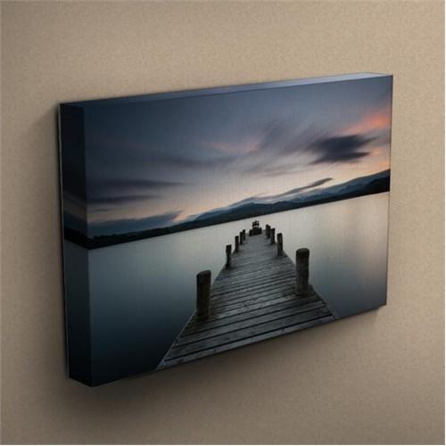 Canvastablom T259 Ahşap Köprü Kanvas Tablo