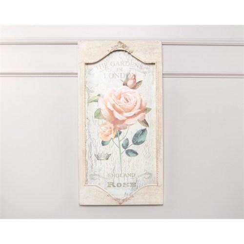 Madame Coco Dekoratif Tablo 31 X 61 Cm