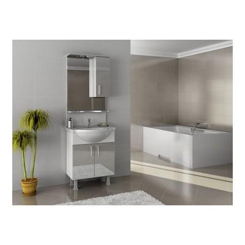 Bestline Auraline Zeta 55 Banyo Dolabı - Beyaz