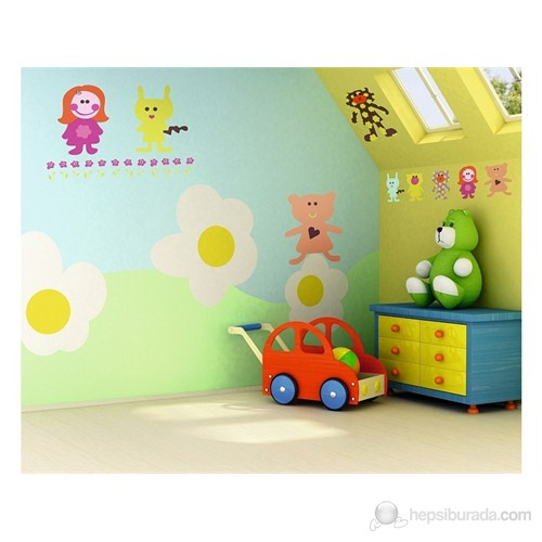 D-C-Fix Spirit Minifun 65 X 85 Cm Duvar Sticker